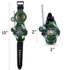 7-in-1 Walkie Talkie Watch Set (2 Watches)