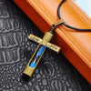 Hourglass Cross Necklace