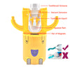 LittleBanana™ - Toothbrush Holder and Toothpaste Dispenser