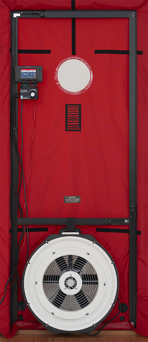 Minneapolis Blower Door™ System (with DG-1000) - TEC