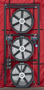 Minneapolis Blower Door™ System: 3-Fan System (with DG-1000s) - TEC