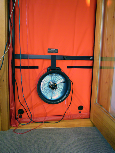 Mini Fan Blower Door System (with DG-1000)