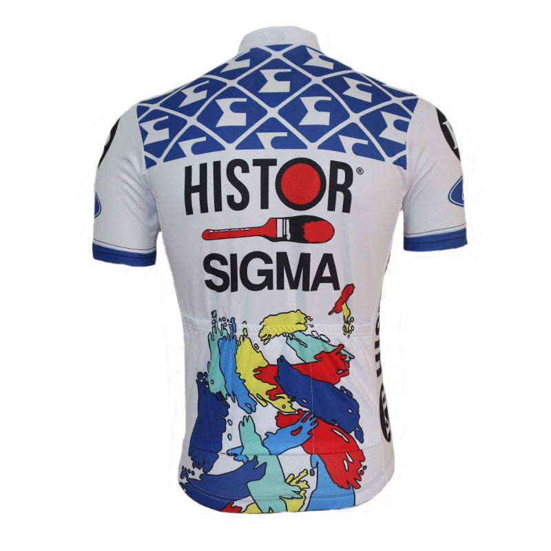 Maillot old school Histor Sigma 1990 - Classical Bicycles