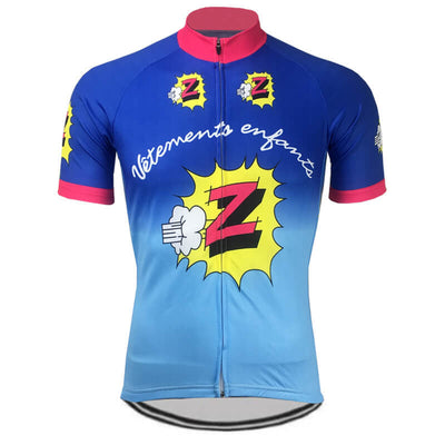 Maillot retro Z-Peugeot 1988 - Classical Bicycles
