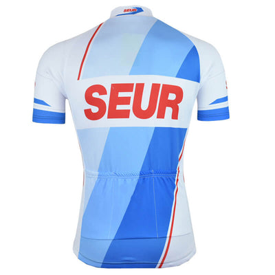 Maillot old school Seur 1989 - Classical Bicycles