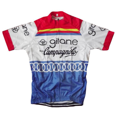 Maillot old school Gitane-Campagnolo 1976 - Classical Bicycles