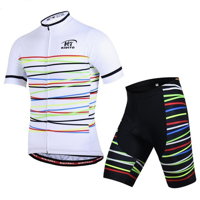 Maillot liserés KIDITOKT 2017 - Classical Bicycles