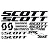 Stickers cadre Scott Shimano - Classical Bicycles