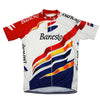 Maillot old school Banesto 1996 - Classical Bicycles