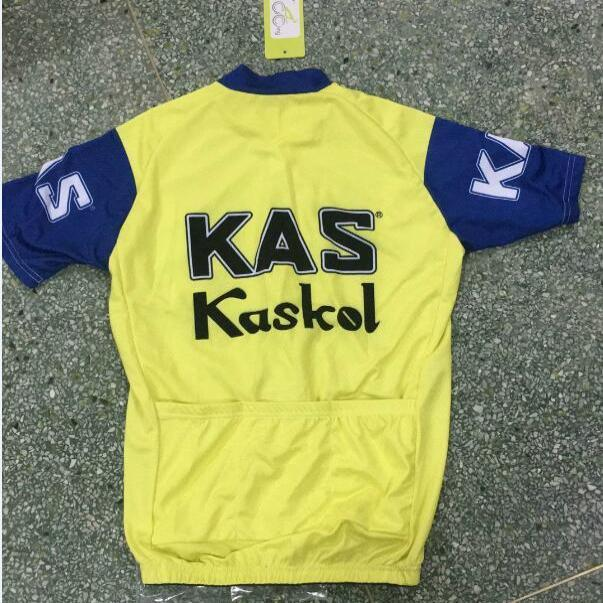 Maillot ancien Kas Kaskol 1974 - Classical Bicycles