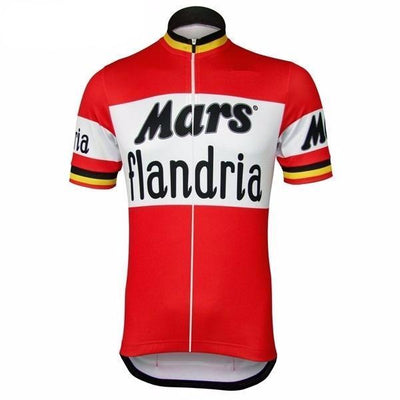 Maillot retro Mars-Flandria 1970 - Classical Bicycles