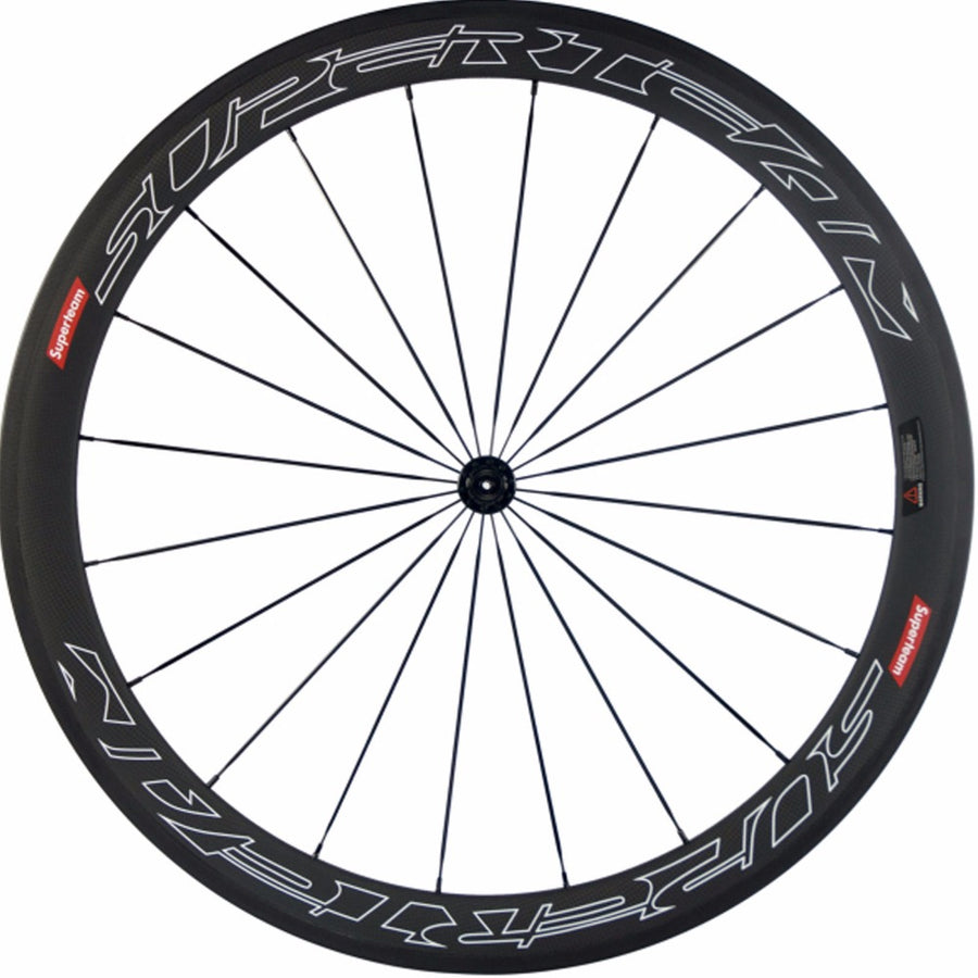 Roues SUPERTEAM japan black 50mm - Classical Bicycles