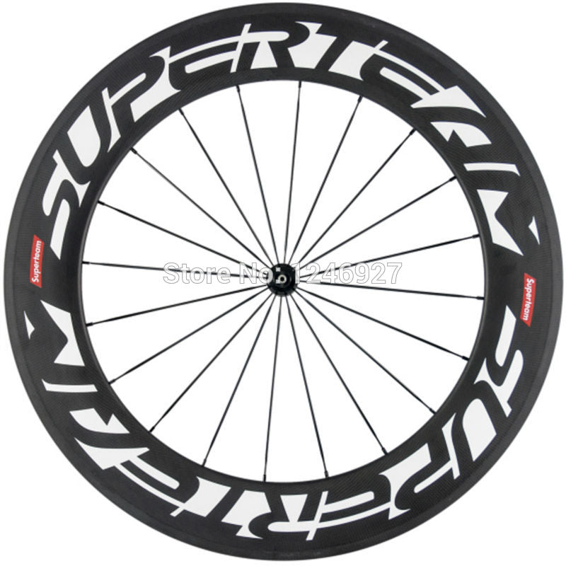 Roues SUPERTEAM ultra black 88mm - Classical Bicycles