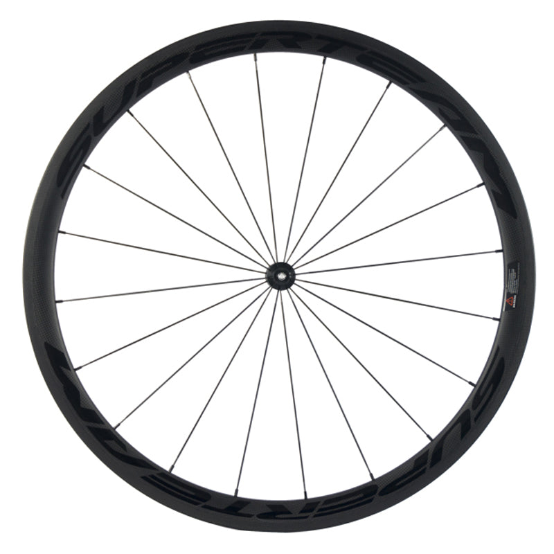 Roues SUPERTEAM light black 38mm - Classical Bicycles