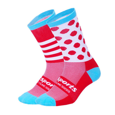 Chaussettes Assortimento Rouge/Cyan - Classical Bicycles