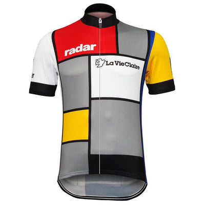Maillot retro La vie claire-Wonder-Radar 1985 - Classical Bicycles