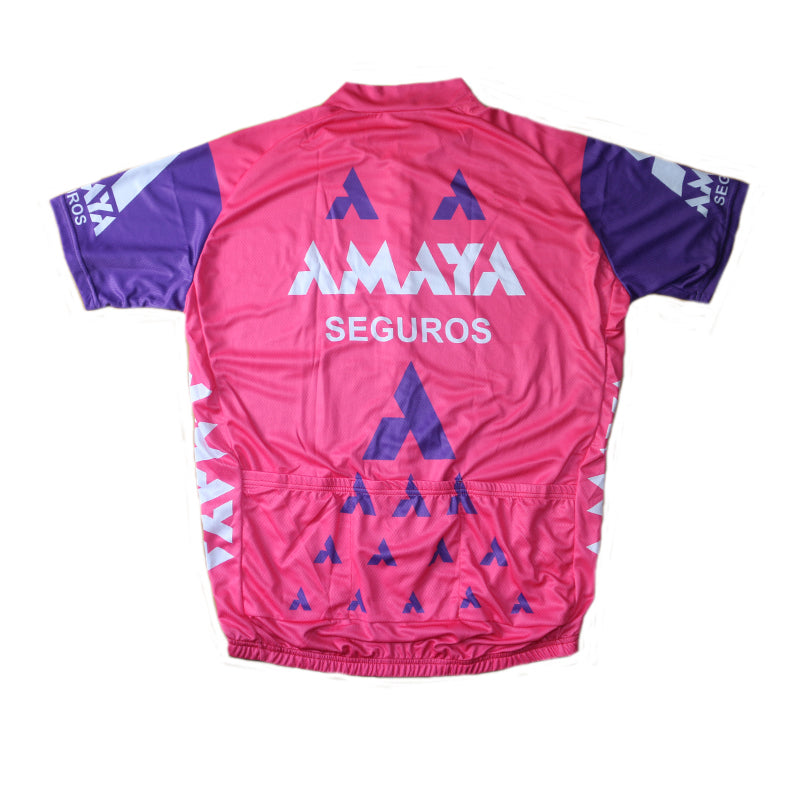 Maillot vintage Amaya Seguros 1991 - Classical Bicycles