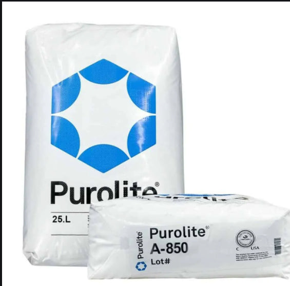 PUROLITE A-850 Anion Color Resin (Tannin removal) 1.0cu.ft