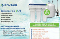 PENTAIR Model # GR/O-HE-75-D Reverse Osmosis