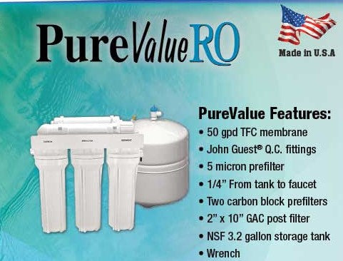 PureValue Pro RO system