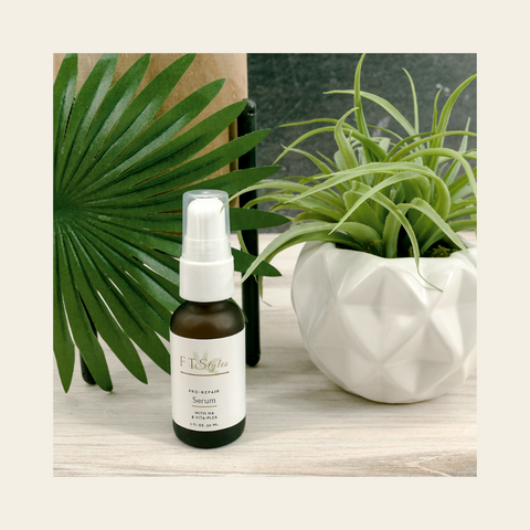Hyaluronic acid serum for face