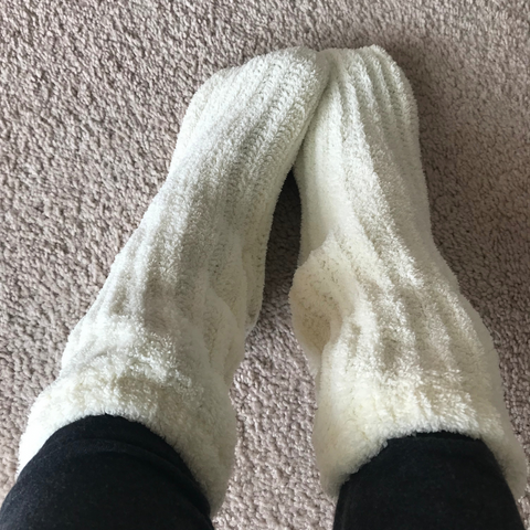 Cozy slipper socks