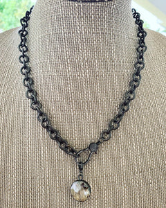 Large Chain + Pendant Necklace