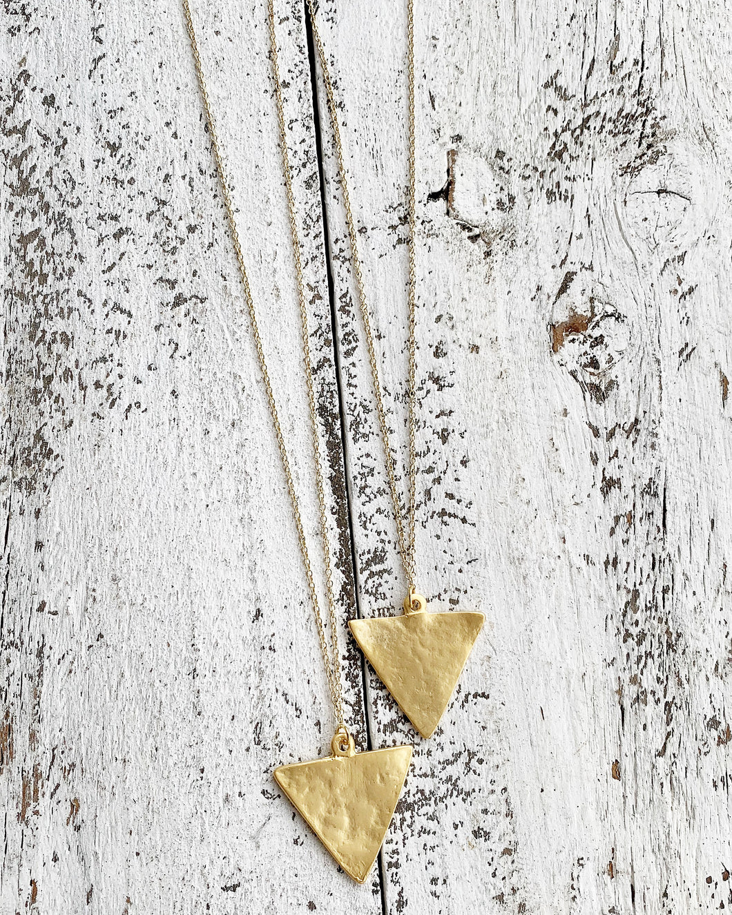 Triangle Layering Necklace