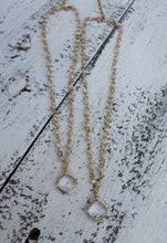 Rosary + Pendant Necklace