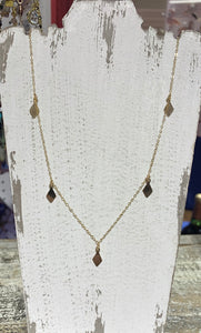 14K Gold Diamond Chain Necklace