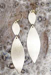 Double Marquese Statement Earrings