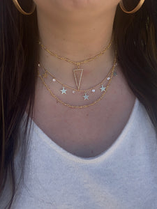 Dainty Choker Necklace Set