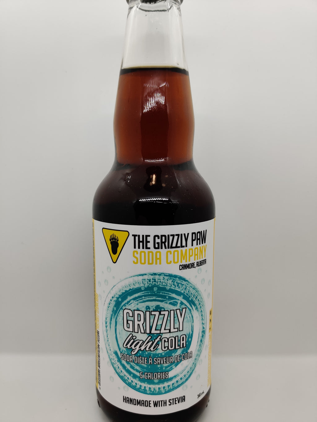 Grizzly Paw Soda 4 Pack - Light Cola