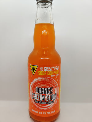Grizzly Paw Soda 4 Pack - Orange Cream Soda