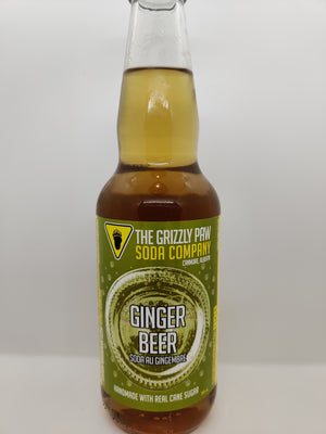 Grizzly Paw Soda 4 Pack - Ginger Beer