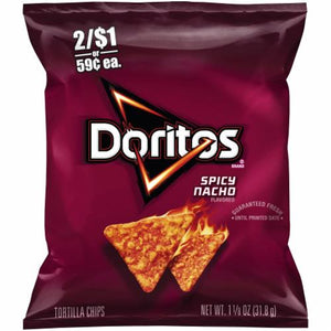 DORITOS Spicy Nacho 40/1.125 oz