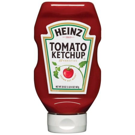 HEINZ KETCHUP, Upside down bottle 12/20 oz