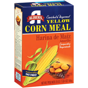 ALBERS Yellow Corn Meal 20/20 oz