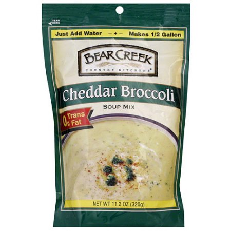 BEAR CREEK Cheddar Broccoli Dry Soup Mix 6/11.2 oz