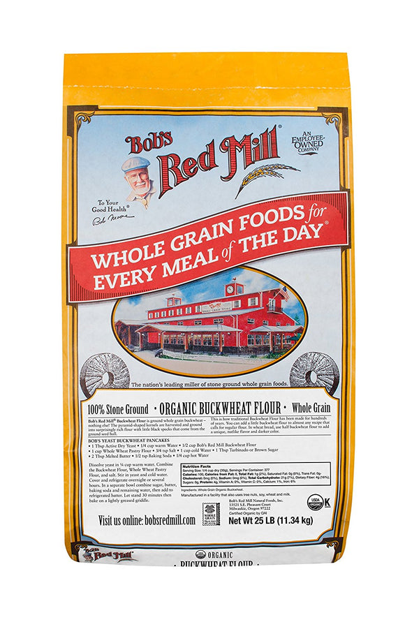 BOB'S Red Mill Buckwheat Flour 1/25 Lb