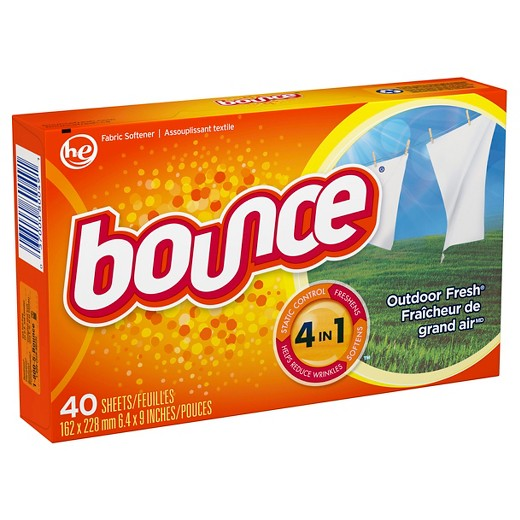 BOUNCE Fabric Softener 12/40 ct