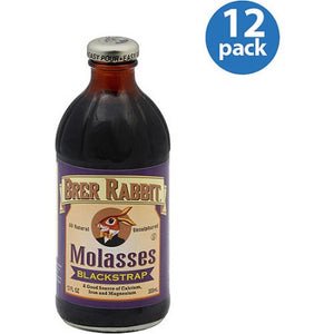 BRER RABBIT  Molasses, BlackStrap 12/12 oz