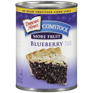 COMSTOCK Blueberry Pie Filling 12/21 oz