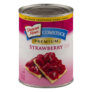 COMSTOCK Strawberry Pie Filling 12/21 oz