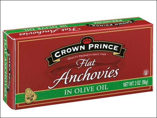 CROWN PRINCE Flat Anchovies 12/2 oz