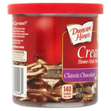 DUNCAN HINES Classic Chocolate Frosting 8/16 oz