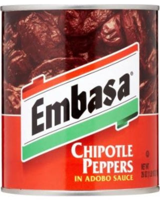 EMBASA Chipotle Peppers in Adobo Sauce 12/26 oz