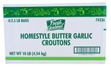 FRESH GOURMET Croutons, Butter & Garlic, Trans Fat Free 4/2.5 lb