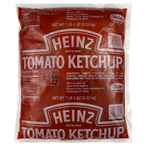 HEINZ Tomato Ketchup - Pouch Pack 6/#10