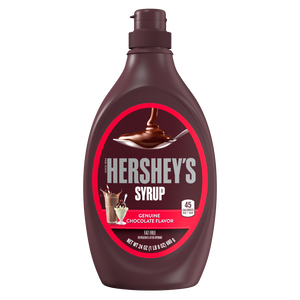 HERSHEY'S Chocolate Syrup Bottle 24/24 oz